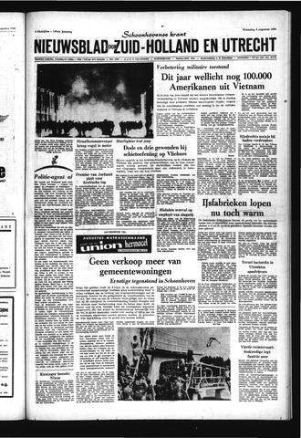 Schoonhovensche Courant 1969-08-06