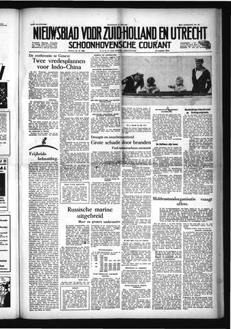 Schoonhovensche Courant 1954-05-12