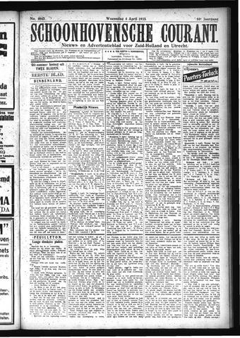 Schoonhovensche Courant 1923-04-04