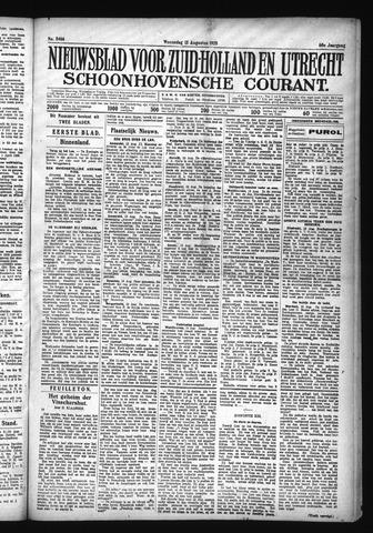 Schoonhovensche Courant 1928-08-15