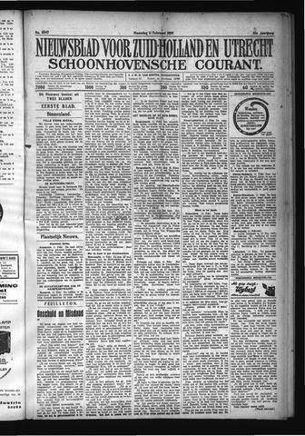 Schoonhovensche Courant 1929-02-11