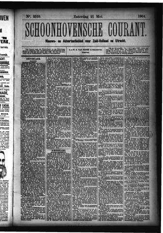 Schoonhovensche Courant 1904-05-21