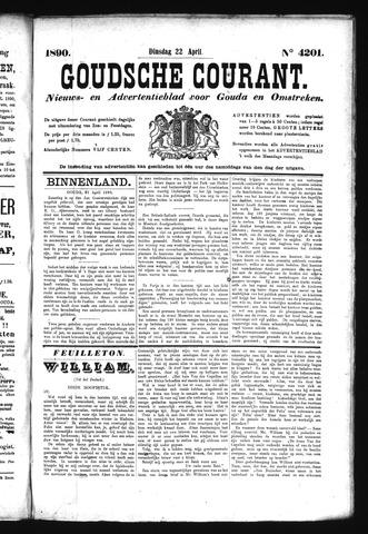 Goudsche Courant 1890-04-22
