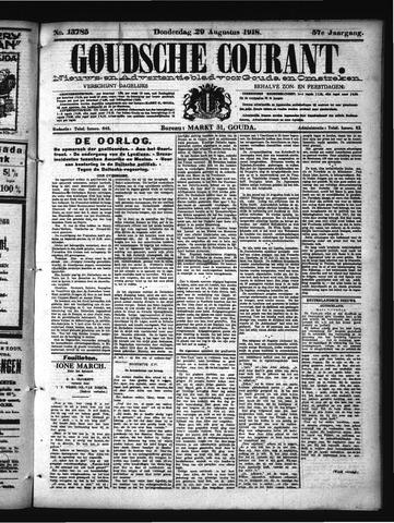Goudsche Courant 1918-08-29