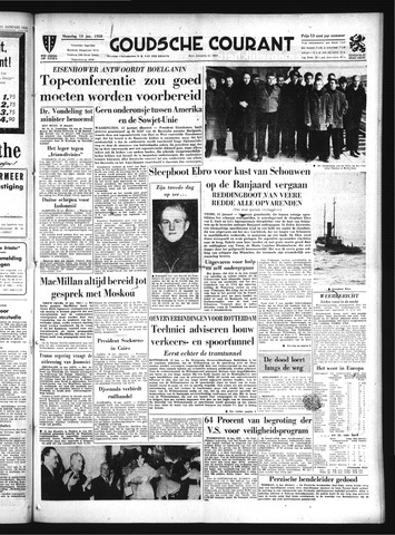 Goudsche Courant 1958-01-13