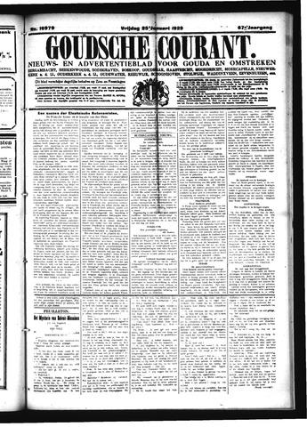 Goudsche Courant 1929-01-25