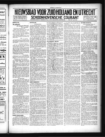 Schoonhovensche Courant 1947-02-19