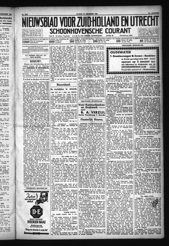 Schoonhovensche Courant 1929-12-27