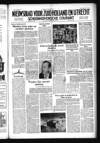 Schoonhovensche Courant 1952-11-12