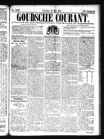 Goudsche Courant 1920-05-29