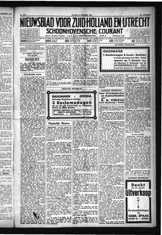 Schoonhovensche Courant 1929-12-20