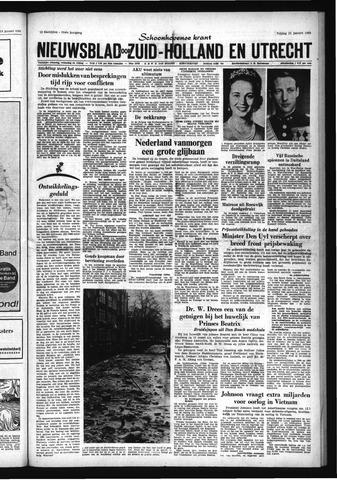 Schoonhovensche Courant 1966-01-21