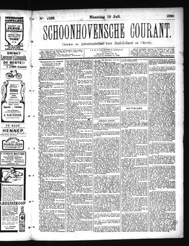 Schoonhovensche Courant 1920-07-19
