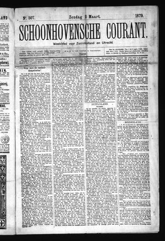 Schoonhovensche Courant 1879-03-02