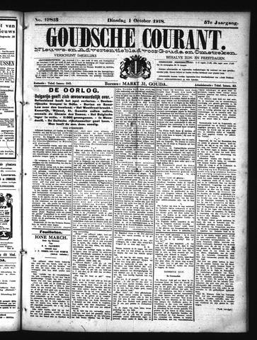 Goudsche Courant 1918-10-01