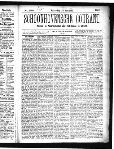 Schoonhovensche Courant 1902-01-18