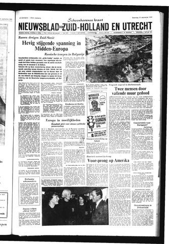 Schoonhovensche Courant 1968-09-23