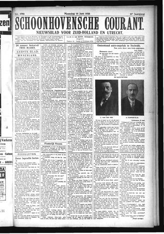 Schoonhovensche Courant 1925-06-15