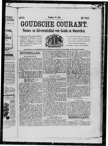 Goudsche Courant 1870-07-31