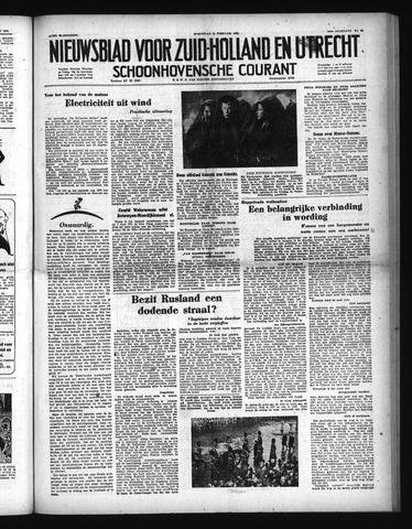 Schoonhovensche Courant 1952-02-13