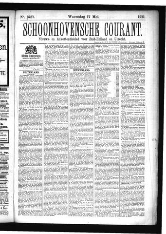 Schoonhovensche Courant 1911-05-17