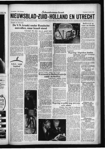 Schoonhovensche Courant 1960-10-05