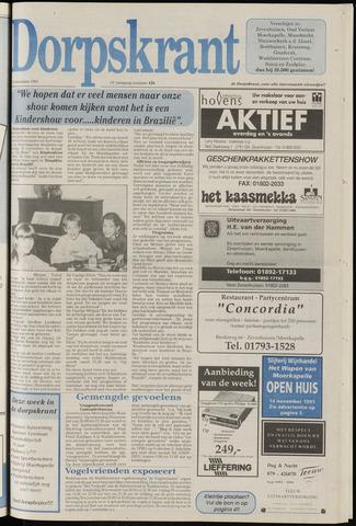 Dorpskrant 1991-11-13