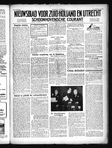 Schoonhovensche Courant 1949-11-30