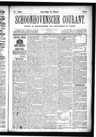 Schoonhovensche Courant 1912-03-16
