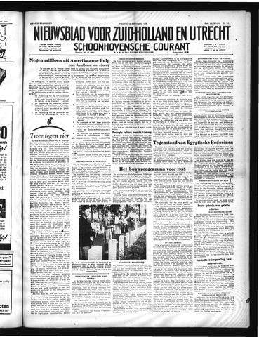 Schoonhovensche Courant 1952-09-19