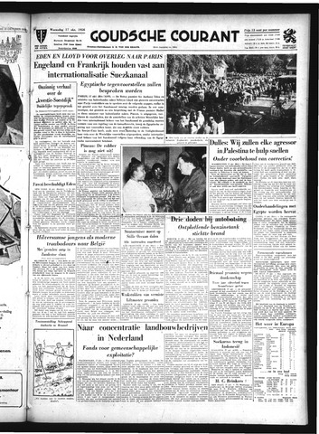 Goudsche Courant 1956-10-17
