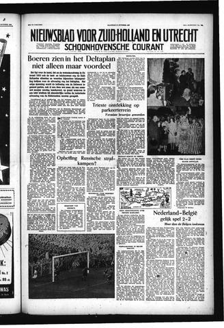 Schoonhovensche Courant 1955-10-17