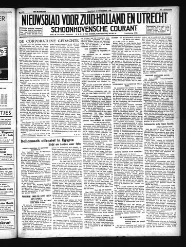 Schoonhovensche Courant 1940-09-16
