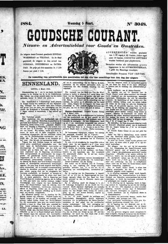 Goudsche Courant 1884-03-05