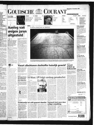 Goudsche Courant 2002-11-27