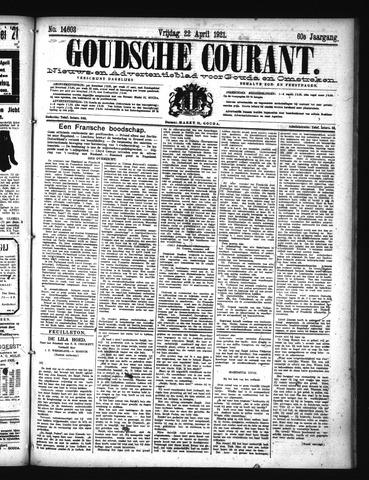 Goudsche Courant 1921-04-22