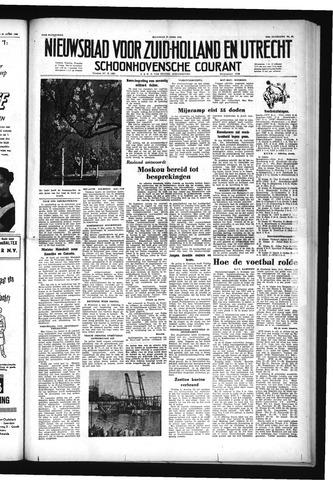Schoonhovensche Courant 1953-04-27