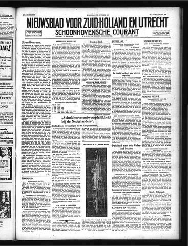 Schoonhovensche Courant 1947-10-29