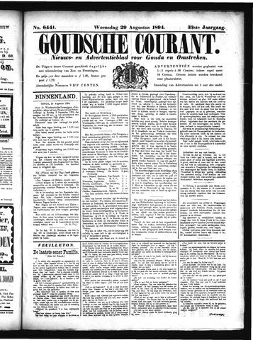 Goudsche Courant 1894-08-29