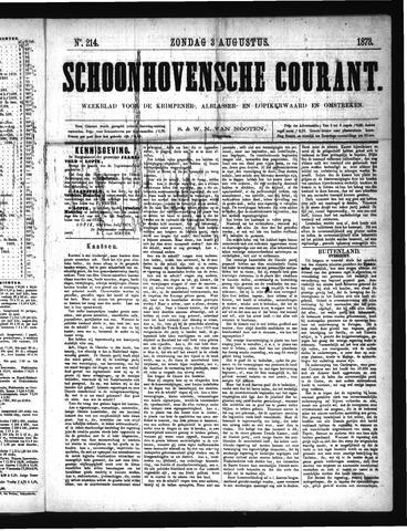Schoonhovensche Courant 1873-08-03