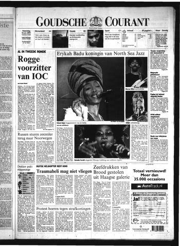 Goudsche Courant 2001-07-16