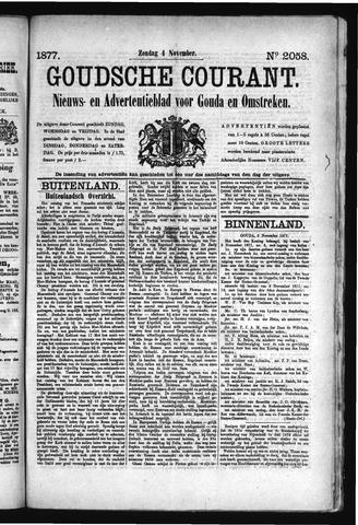 Goudsche Courant 1877-11-04