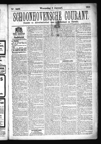 Schoonhovensche Courant 1913-01-08