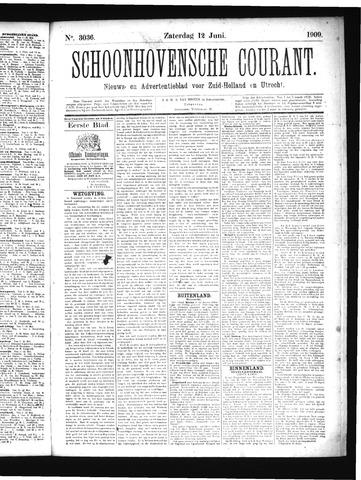 Schoonhovensche Courant 1909-06-12