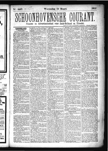 Schoonhovensche Courant 1913-03-12