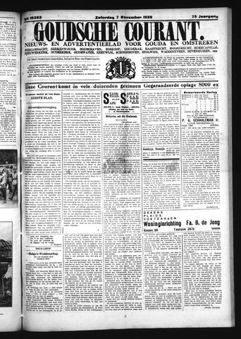 Goudsche Courant 1936-11-07