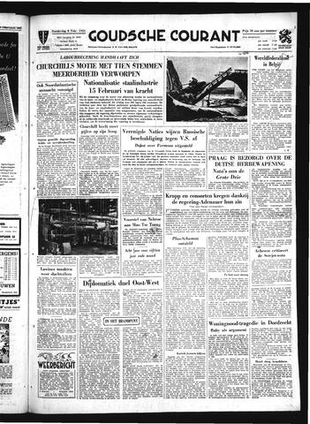 Goudsche Courant 1951-02-08