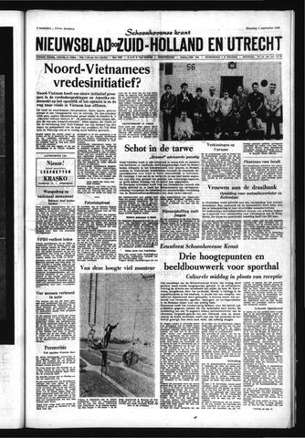 Schoonhovensche Courant 1969-09-08