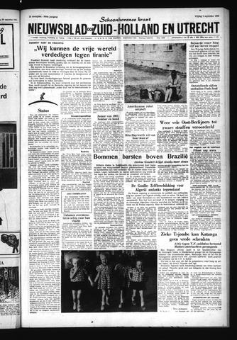 Schoonhovensche Courant 1961-09-01