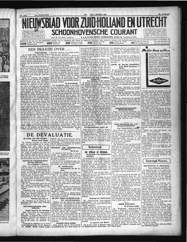 Schoonhovensche Courant 1936-10-07